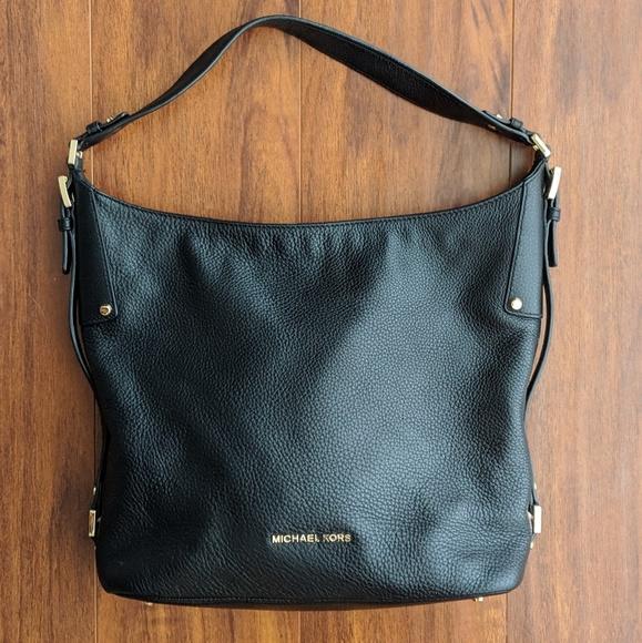 Michael Kors Bedford Belted Large Shoulder Bag